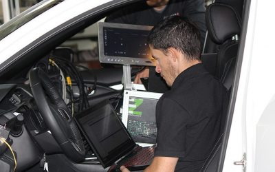 Vehicle data acquisition using CAN